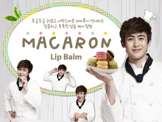Macaron Lip Balm, 9g, SGD11.00 each