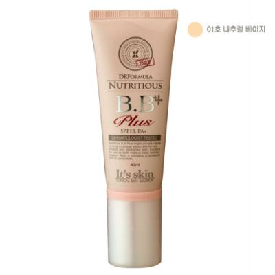 DR Formula Nutritious BB Plus No.1 Natural Beige, 40ml, SGD20.00