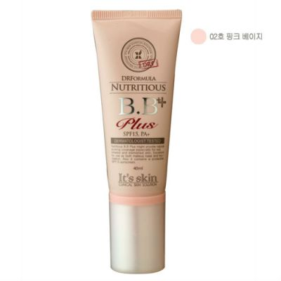 DR Formula Nutritious BB Plus No.2 Pink Beige, 40ml, SGD20.00