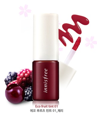 Eco Fruit Tint No.1 Cherry, 9ml, SGD8.00