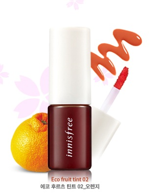 Eco Fruit Tint No.2 Orange, 9ml, SGD8.00