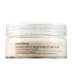 Home Spa White Wood Body Oil Salt Scrub, 200g, SGD42.50
