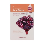 Real Nature Mask - Acai Berry, 5 sheets, SGD8.90