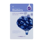 Real Nature Mask - Blueberry, 5 sheets, SGD8.90
