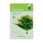 Real Nature Mask - Cucumber, 23ml, SGD2.70