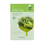 Real Nature Mask - Green Tea, 5 sheets, SGD8.90