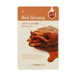 Real Nature Mask - Red Ginseng, 5 sheets, SGD8.90
