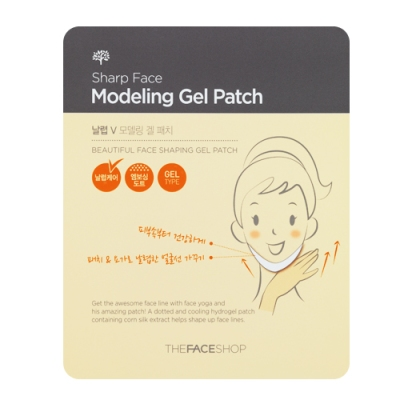 Sharp Face Modeling Gel Patch, 1 sheet, SGD7.90