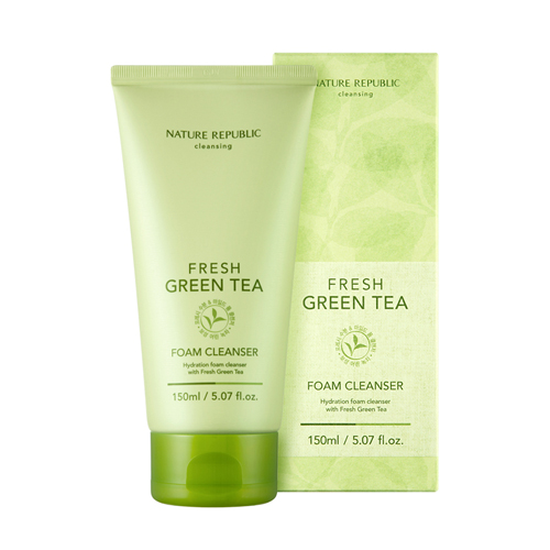Fresh Green Tea Foam Cleanser, 150ml, SGD14.30