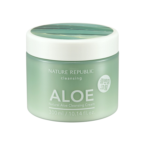 Natural Aloe Cleansing Cream, 300ml, SGD26.80