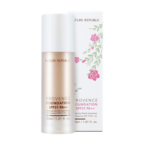 Provence Foundation SPF13 PA++ No.21, 30ml, SGD28.40