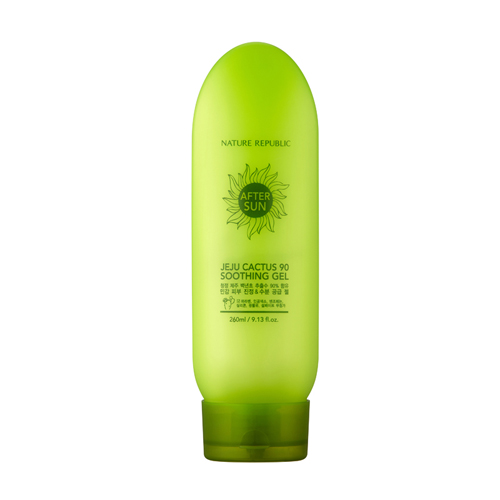 Jeju Cactus 90 Soothing Gel, 260ml, SGD9.60