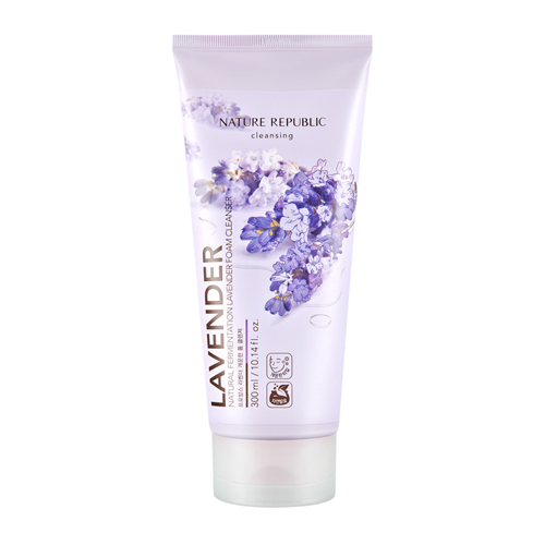 Natural Fermentation Lavender Foam Cleanser, 300ml, SGD26.80