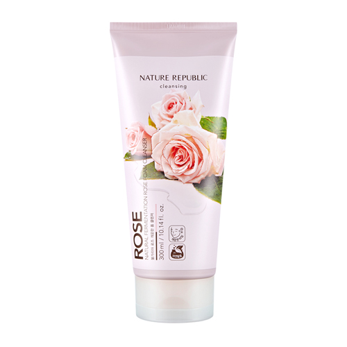 Natural Fermentation Rose Foam Cleanser, 300ml, SGD28.60