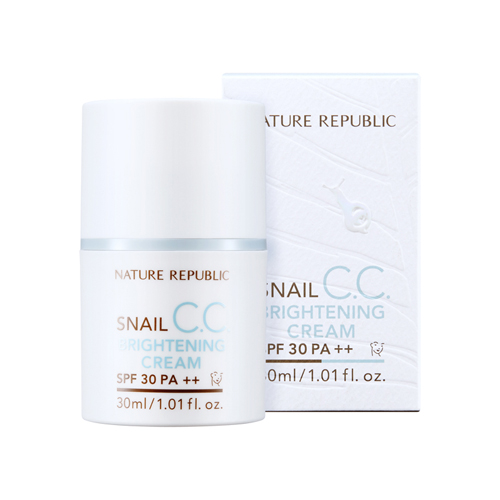 Snail CC Brightening Cream SPF30 PA++, 30ml, SGD44.10