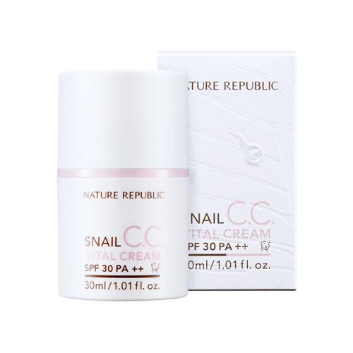 Snail CC Vital Cream SPF30 PA++, 30ml, SGD44.10