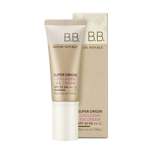 Super Origin Collagen B.B. Cream SPF25 PA++, 45g, SGD23.40