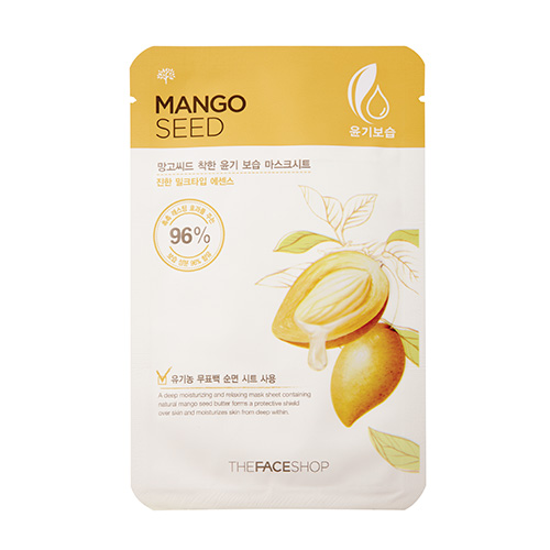 Mango Seed Moisturizing Mask Sheet, 23ml, SGD4.40