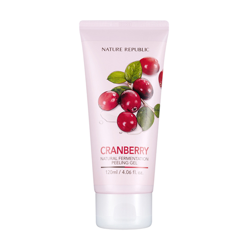 Natural Fermentation Cranberry Peeling Gel, 120ml, SGD8.20