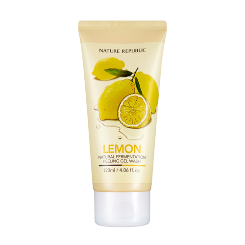 Natural Fermentation Lemon Peeling Gel Wash, 120ml, SGD15.90