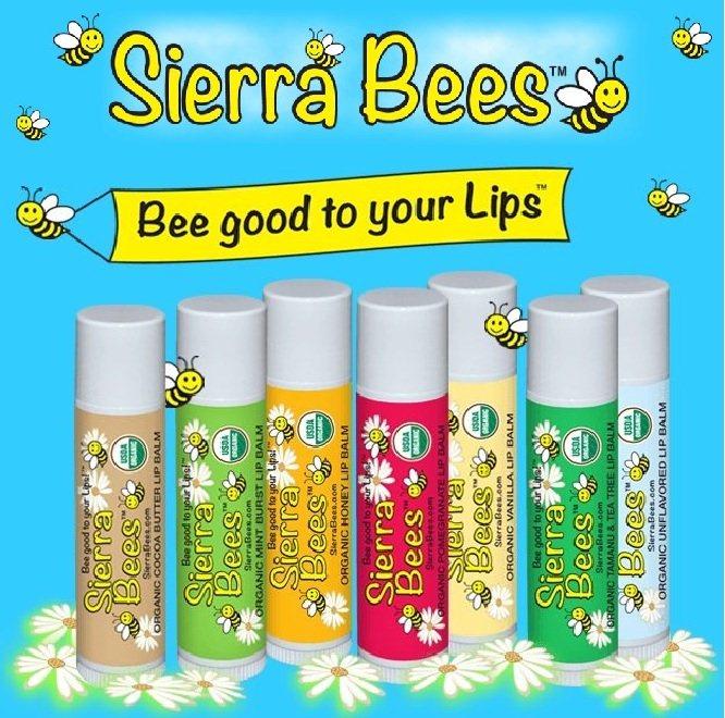 Sierra Bees Organic Lip Balm (Variety Pack of 8)