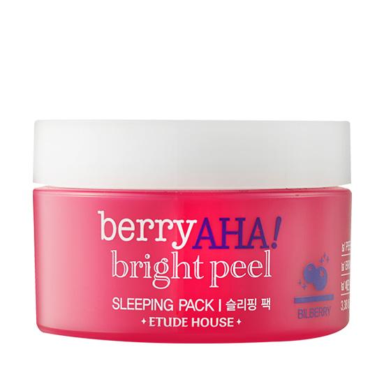 Berry AHA Bright Peel Sleeping Pack, 100ml, SGD22.90