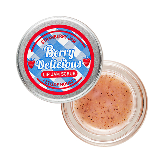 Berry Delicious Strawberry Lip Jam Scrub, 15g, SGD14.90