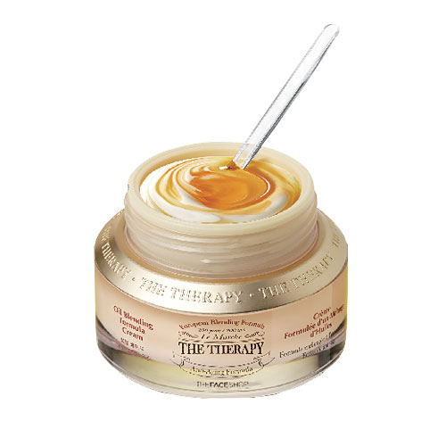 The Therapy Oil Blending Formula Cream2