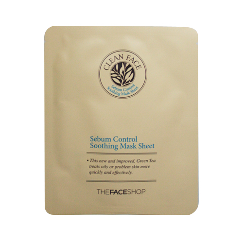 Sebum Control Soothing Mask Sheet